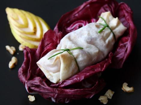 Birnen-Gorgonzola-Bonbons