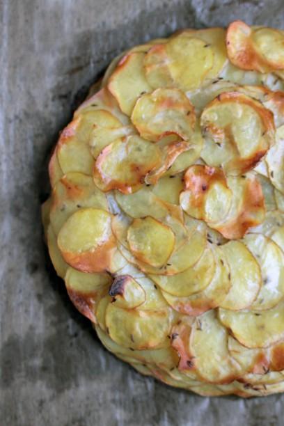 Kartoffel-Galette