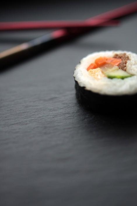 Sushi mit Tafelspitz