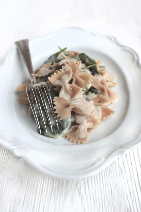 Gorgonzola-Spinat-Pasta